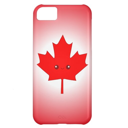 Cute Red Maple Leaf iPhone Case iPhone 5C Covers