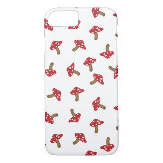 Cute Red Mushrooms iPhone 7 Case