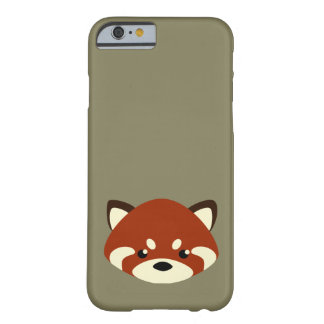 Cute Red Panda Barely There iPhone 6 Case