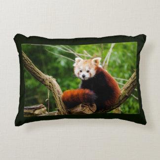 Cute Red Panda Bear Decorative Pillow