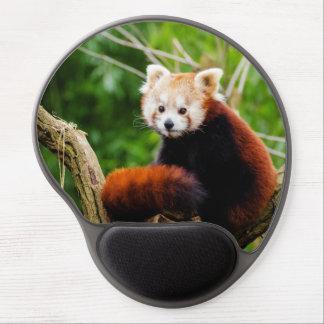 Cute Red Panda Bear Gel Mouse Pad