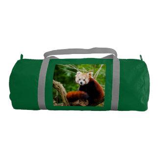 Cute Red Panda Bear Gym Bag