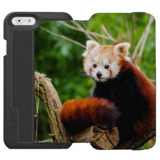 Cute Red Panda Bear Incipio Watson™ iPhone 6 Wallet Case
