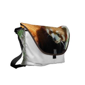 Cute Red Panda Bear Messenger Bag