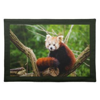 Cute Red Panda Bear Placemat