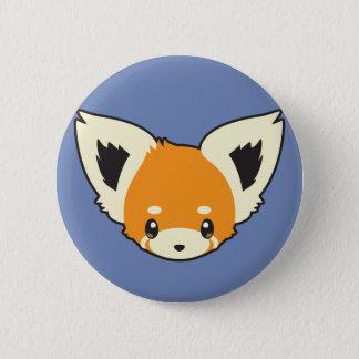 Cute Red Panda Head 2 Inch Round Button