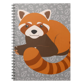 Cute Red Panda Notebook