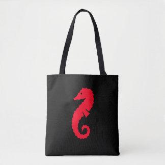 Cute Red Seahorse 4Erika Tote Bag
