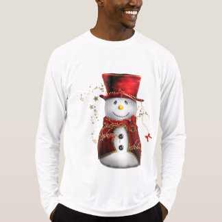 Cute Red Snowman T-Shirt