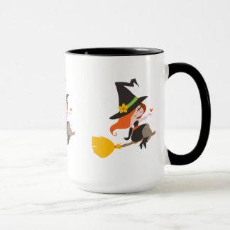 Cute Redhead Witch Mug