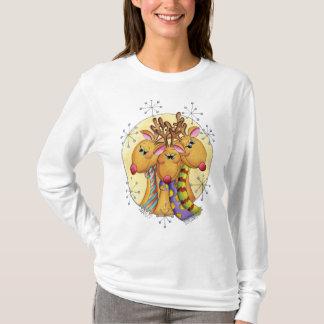 Cute Reindeer Christmas Jumper T-Shirt