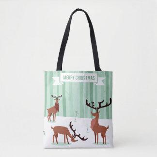 Cute Reindeers Christmas bags