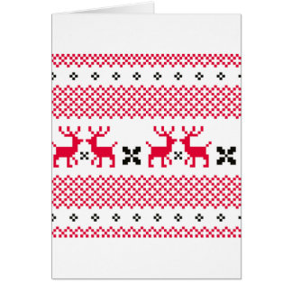 Cute reindeers Creative t-shirts Card