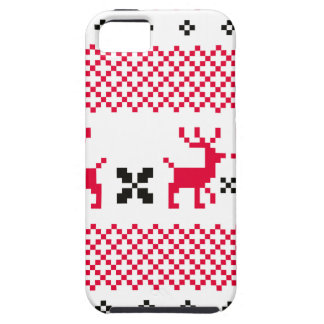 Cute reindeers Creative t-shirts Case For The iPhone 5