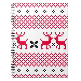 Cute reindeers Creative t-shirts Notebook