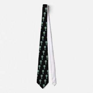 Cute Reptilian Alien Tie