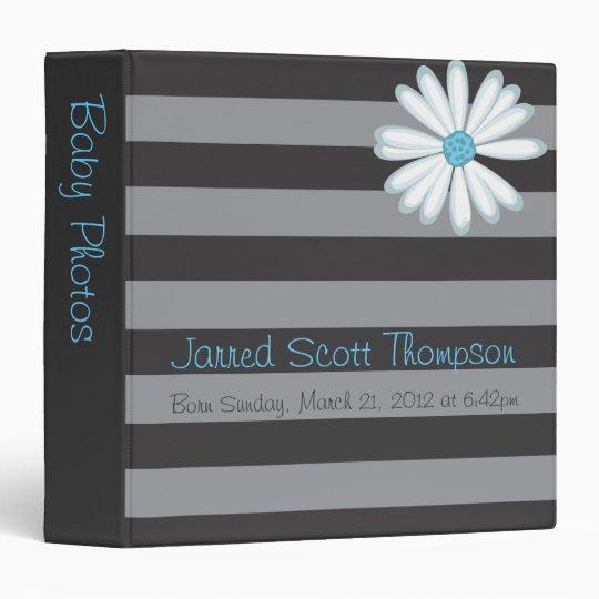 Cute Retro Artistic Scrapbook or Photo Album 3 Ring Binders