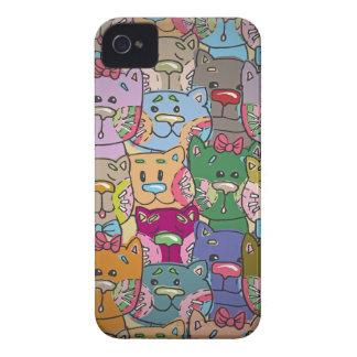 Cute Retro Colorful Animals Company Blackberry Blackberry Cases