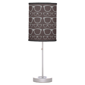 Cute Retro Eyeglass Hipster Table Lamp