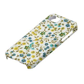 Cute Retro Floral Pattern iPhone 5 Case