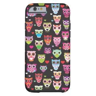 Cute retro owl pattern illustrated iPhone 6 case