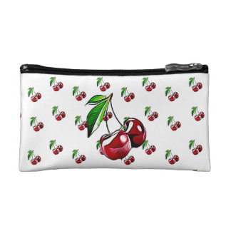 Cute Retro Style Cherry Handbag Makeup Bag