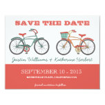 Cute Retro Vintage Bicycles Save the Date