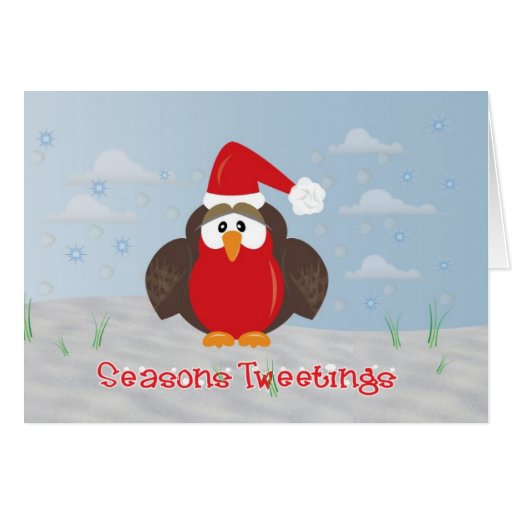 Cute Robin Card