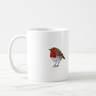 Cute Robin Drawing Coffee Mug