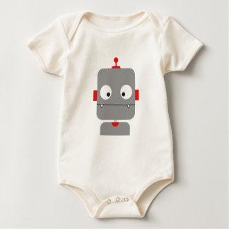 Cute Robot Baby Bodysuit
