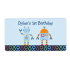 Cute Robot Baby Shower Party Favour