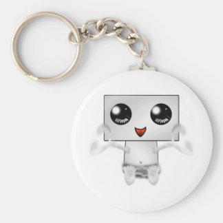 Cute Robot Keychain