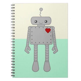 Cute Robot Notebook
