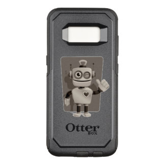 Cute Robot OtterBox Commuter Samsung Galaxy S8 Case