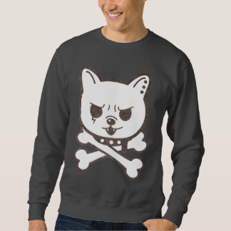 Cute Rocker Puppy Skull Kids T-shirt