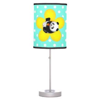 Cute Rolling Panda Table Lamp