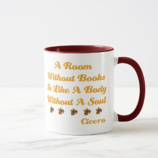 Cute Room Without a Book T-shirt Mug
