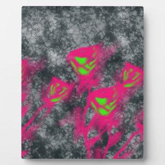 cute roses plaque