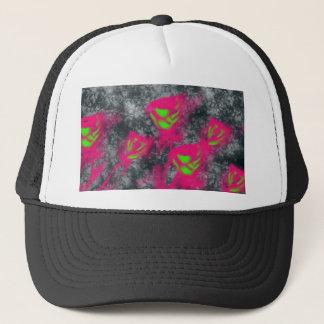 cute roses trucker hat