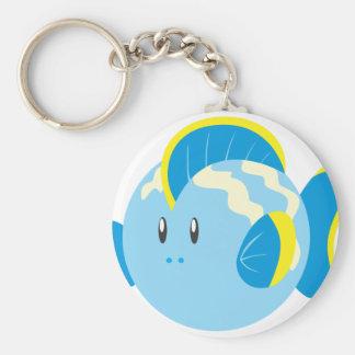 Cute Round Fish Key Chains