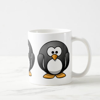Cute Round Penguin Designs Coffee Mug