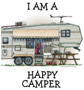eaa7777a31 Cute RV Vintage Fifth Wheel Camper Travel Trailer Keychain
