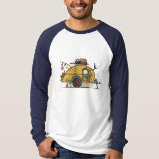 Cute RV Vintage Teardrop  Camper Travel Trailer T-Shirt