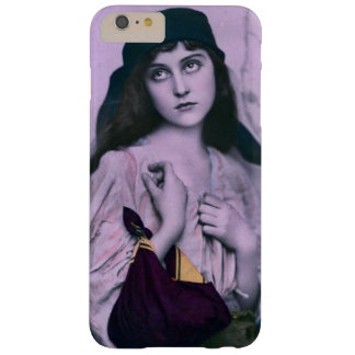 Cute Sad Eyes Gypsy Girl Barely There iPhone 6 Plus Case