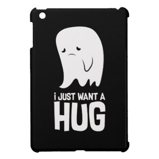 Cute Sad Ghost Just Want a Hug Cover For The iPad Mini