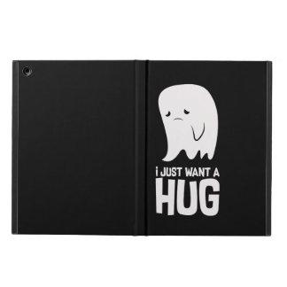 Cute Sad Ghost Just Want a Hug iPad Air Cover