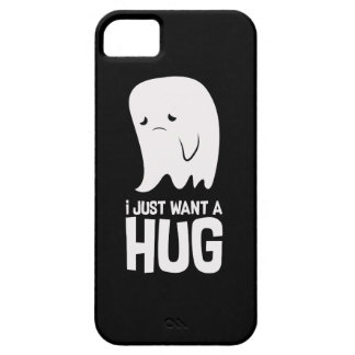 Cute Sad Ghost Just Want a Hug iPhone 5 Covers