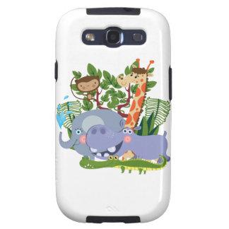 Cute Safari Animals Galaxy S3 Cover