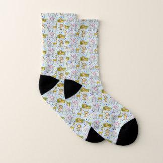 Cute Safari Socks 1