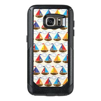 Cute Sailboat Pattern 2 OtterBox Samsung Galaxy S7 Case